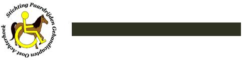 Stichting Paardrijden Gehandicapten Oost Achterhoek logo